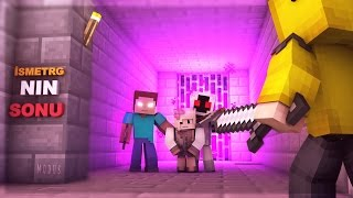 IsmetRG'nin Sonu (Minecraft Filmi) - TR   Herobrine & Entity 303 vs IsmetRG