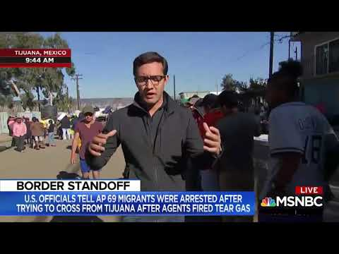 Garret Lewis - MSNBC Reports Migrants Mostly Men, Lied To, Want To Go Home