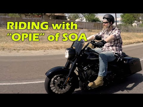 Riding With Opie (Ryan Hurst), From Sons Of Anarchy. AWESOME!!!