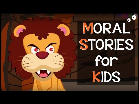 SHORT STORY for CHILDREN | The Lion and The Mouse Story, Lion and Hare Story