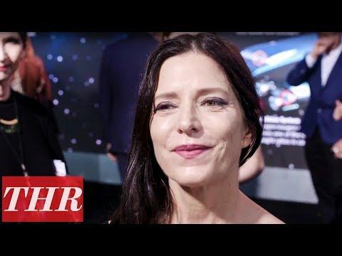 Melora Walters Talks Working With Tom Hardy on 'Venom' Premiere Red Carpet  THR