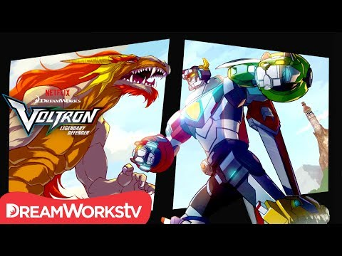 [MOTION COMIC] The Tale of Lance and the Dragon - Part 2 | DREAMWORKS VOLTRON LEGENDARY DEFENDER
