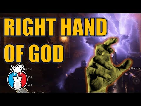 Activate Right Hand of God - Final Reich Call of Duty WW2 Zombies
