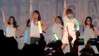 FANCAM JKT48 Boku wa Ganbaru at Gingham Check HS Festival 141004