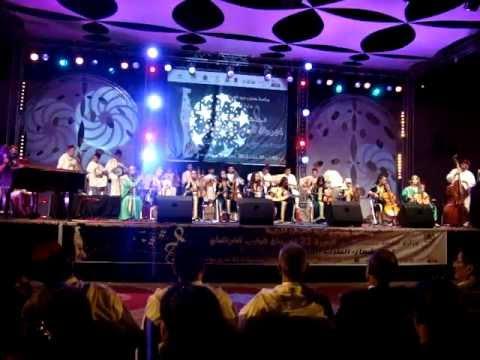 festival de la music gharnati 21eme edition park lala maryem oujda le 02.08.2012 video1