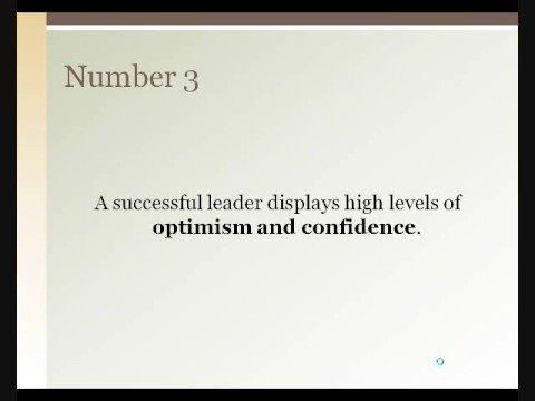 Top 10 Characteristics of a Leader