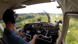 Day 4 - Solo flight in a Cessna 172