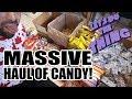 Dumpster Diving - Huge Haul of Halloween Candy!