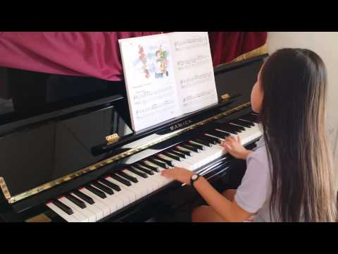 Arkansas Traveler Piano by 7 year old Chloe from Singapore