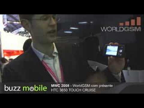 MWC 2008: HTC TOUCH CRUISE 3650