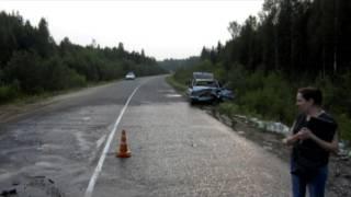 ДТП с погибшими. Белохолуницкий район 06.08.13 Место происшествия