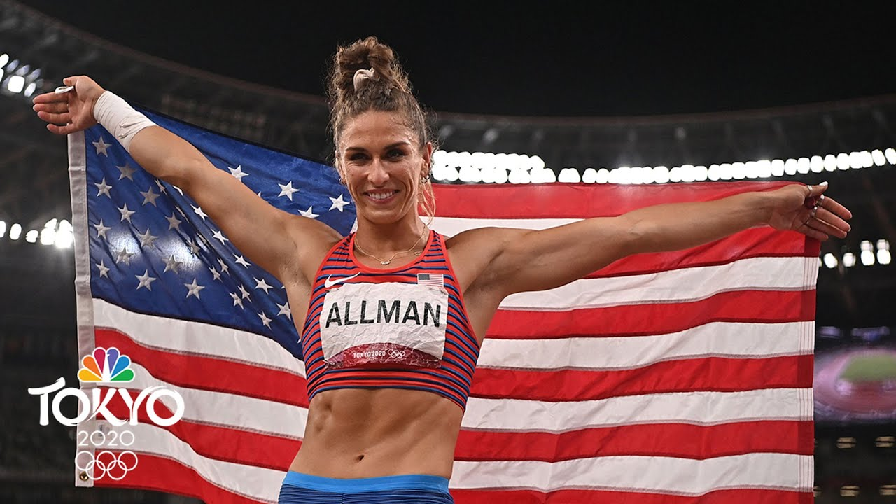Valarie Allman wins first U.S. track and field gold medal on first ...