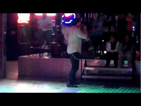 """Danny sings """"Lets Get it On"""" at Power Ball Karaoke, Club Allure Utah"""