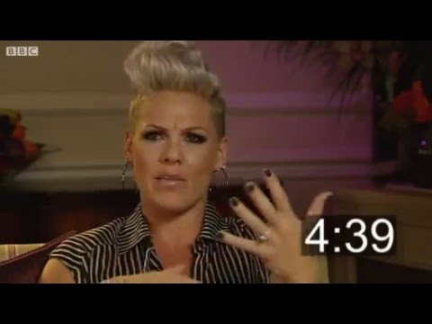 BBC Five Minutes With Pink Interview - She's amazing!!