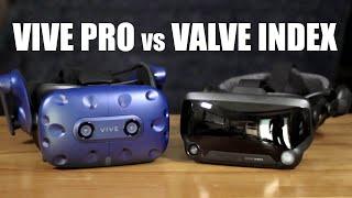 Vive Pro vs Valve Index