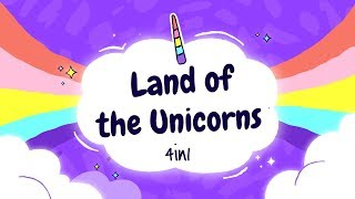 Sleep Meditation for Kids | LAND OF THE UNICORNS 4in1 | Sleep Story for