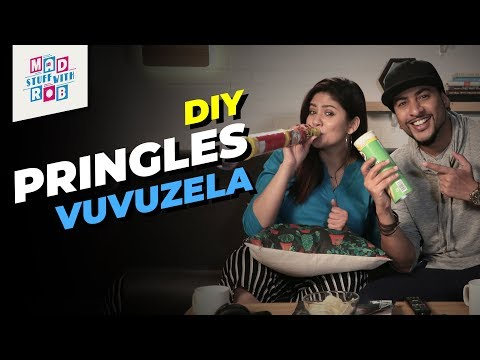 DIY Pringles Vuvuzela Ft. Shanice Shrestha | MadStuffWithRob