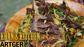 TSUIVAN For The King - Mongolian Rib Fried Noodle | Khan's Kitchen