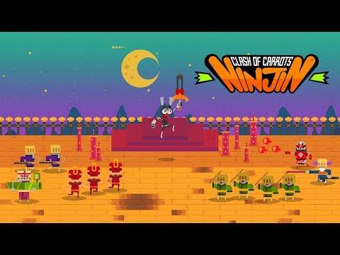 NINJIN: CLASH OF CARROTS - Launch Trailer