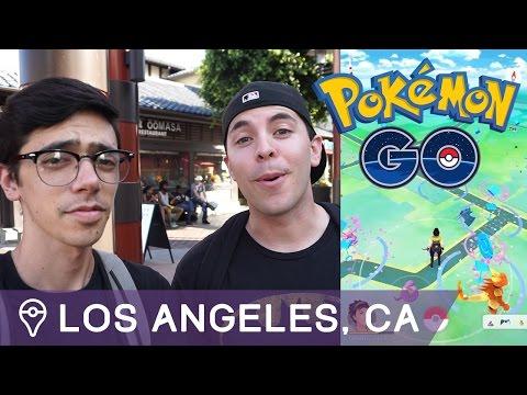 NONSTOP LURE MODULES IN LOS ANGELES: POKÉMON GO