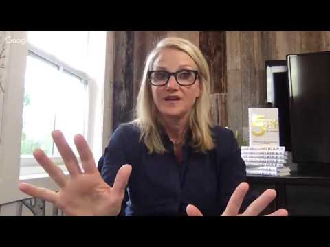 Peter Voogd Interviews The Game Changer Mel Robbins, the 5-Second Life Changer!