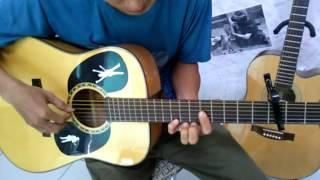 Tình lỡ cách xa - guitar