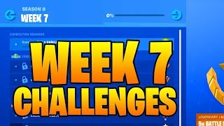 SEASON 9 WEEK 7 CHALLENGES LEAKED - WEEK 7 ALL CHALLENGES GUIDE! Fortnite