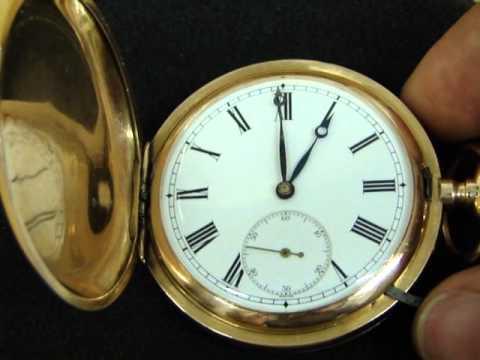 Zlaté vreckové hodinky JWC - YouTube 7555acaafa