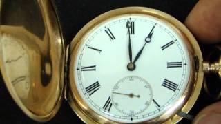 Zlaté vreckové hodinky JWC e038272e2d4