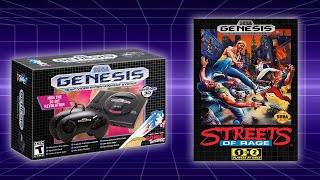 Streets of Rage 2 on the Sega Genesis Mini!
