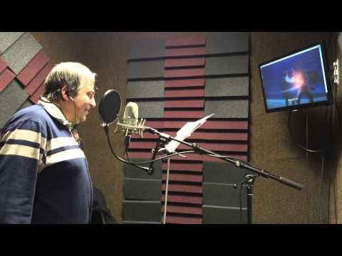 Recording Mike Pollock as Lilith's Father in Holy Knight!