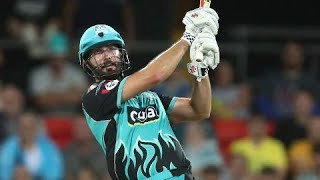 Cutting hammers five sixes, collects a wicket