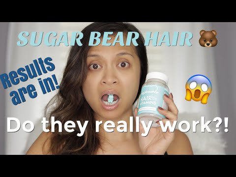 SUGARBEARHAIR VITAMINS | HONEST REVIEW | MakeupByCess