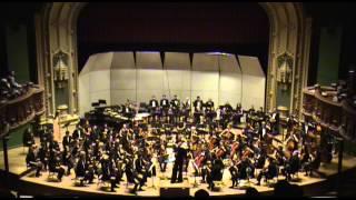 The University of Chicago Symphony Orchestra plays Dvořák
