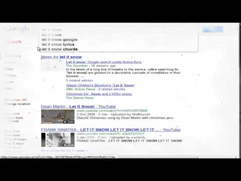 Google Trick Let It Snow Hd Best Google Hack Youtube