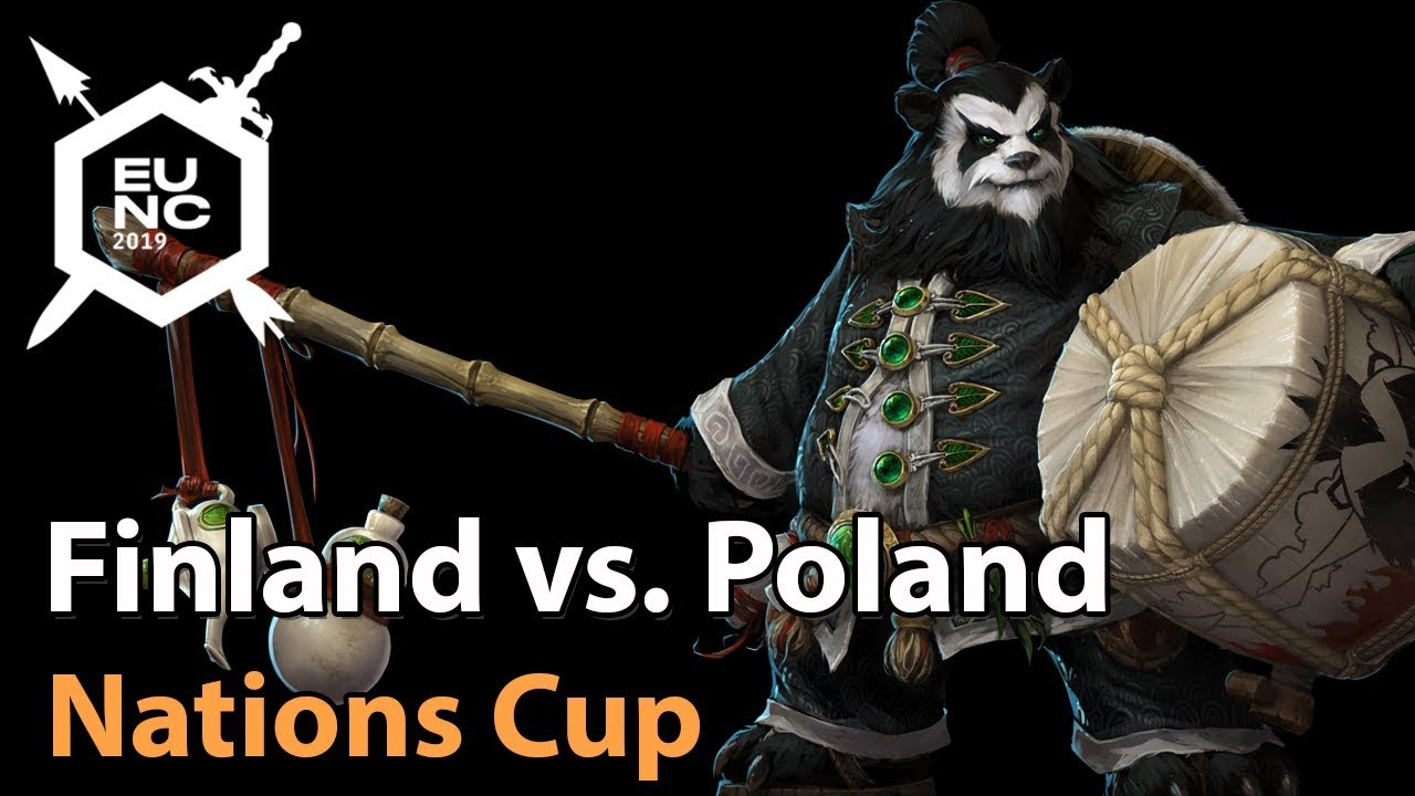 ► Poland vs. Finland - Nations Cup -  Heroes of the Storm Esports