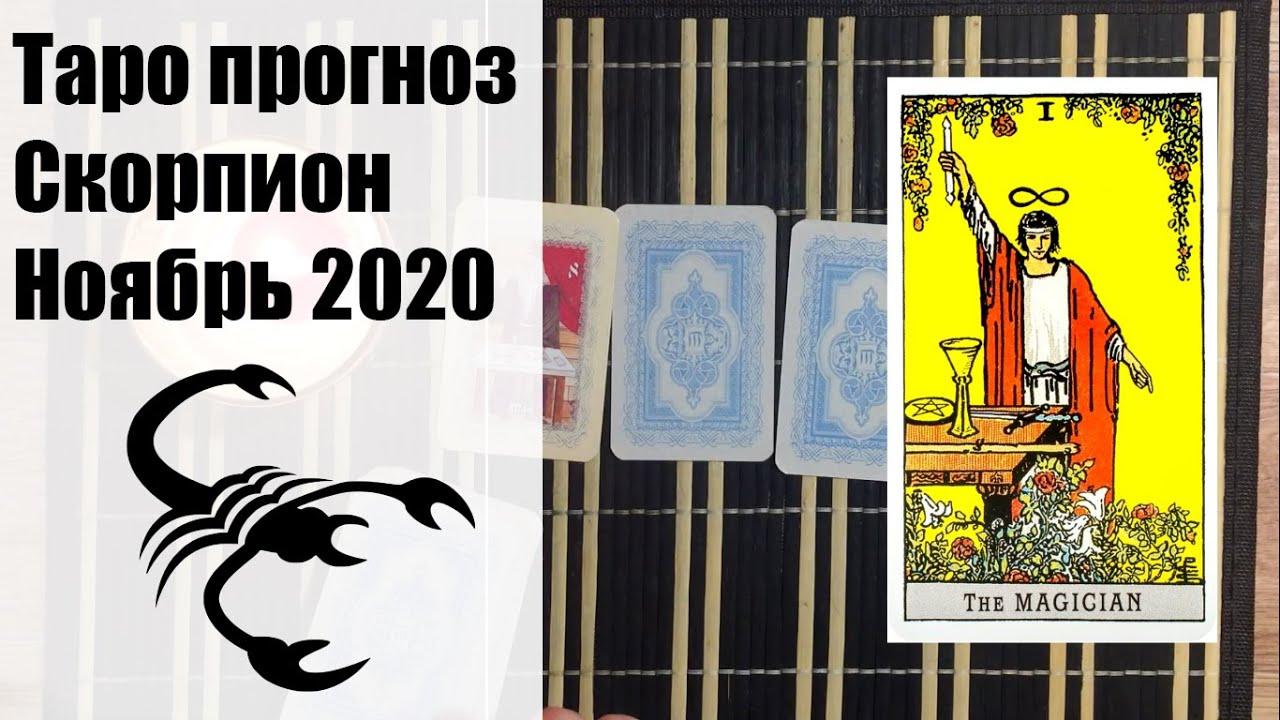Таро гороскоп – СКОРПИОН ноябрь 2020