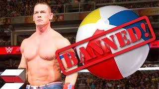 Video WWE Banning Beach Balls From Live Events download MP3, 3GP, MP4, WEBM, AVI, FLV September 2017