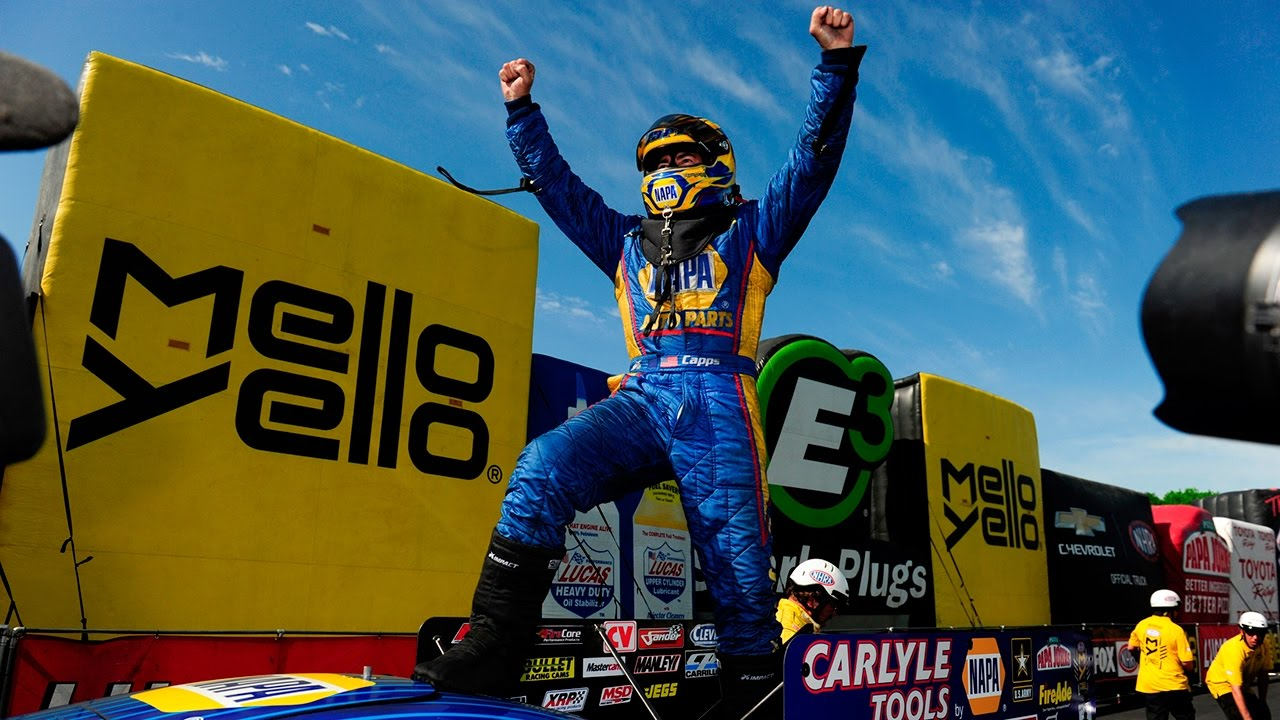 Ron Capps gets his second win in a row at NHRA Four-Wide Nationals