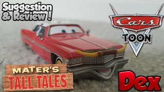 Disney Pixar Cars Toon Review: Dex: Heavy Metal Mater Diecast Suggestion & Review!