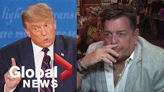 "Trump, Biden supporters react to 1st presidential debate: ""childish"""