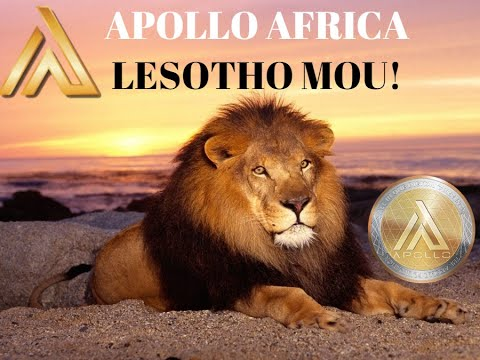 CRYPTO NEWS:APOLLO CURRENCY AFRICA MOU SIGNING WITH LESOTHO BREAKDOWN!!
