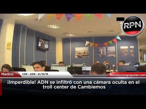¡Imperdible! ADN se infiltró con una cámara oculta en el troll center de Cambiemos
