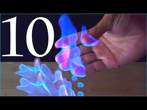 10 Amazing Science Experiments! Compilation - Популярные видеоролики!