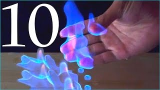 10 Amazing Science Experiments! Compilation(This video is a compilation of 10 cool science experiments. 0:00 Jet engine in a jar 0:52 Traveling flame 1:16 Soapy water and gas 1:50 Drain cleaner and ..., 2016-05-30T17:26:24.000Z)