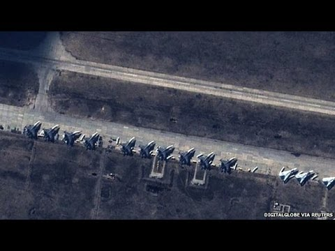 Ukraine crisis: Pentagon says Russian jets violated airspace