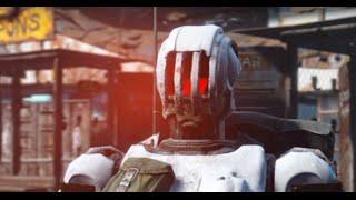 Fallout 4 - BUILDING MY FIRST ROBOT - Automatron DLC