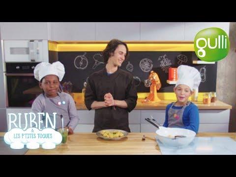 Ruben et les p'tites toques : Gnocchis de patate douce ! À déguster sur Gulli !