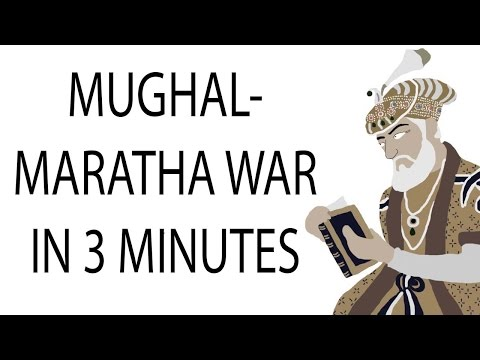 Mughal-Maratha War | 3 Minute History