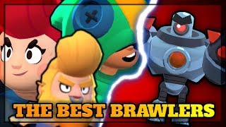 TOP 5 BEST BRAWLERS FOR BOSS FIGHT! ~ Brawl Stars TOP 5